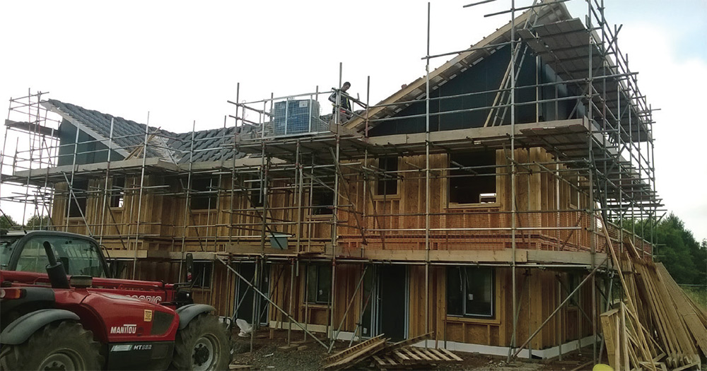 The timber frame construction