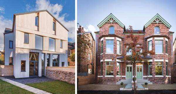 Passive houses open to show summer performance