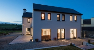 DIY Cork builder hits passive & NZEB with first self-build