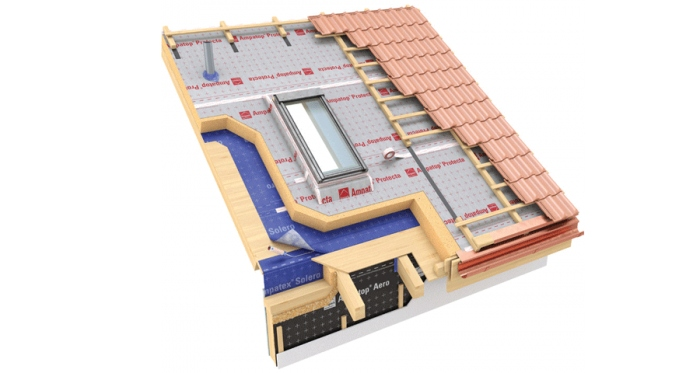 Ampack's range of airtightness and vapour control products are available in the UK and Ireland via Partel