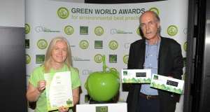 Irish cellulose manufacturer Ecocel wins Green Apple award