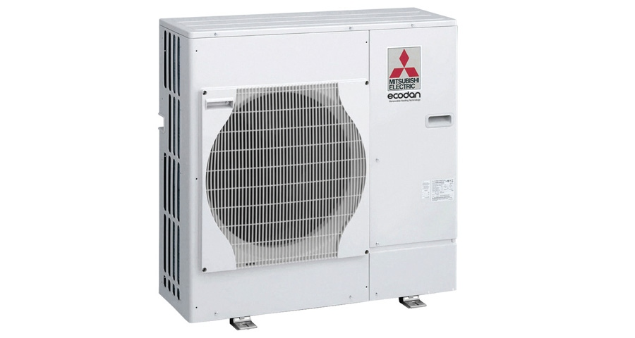 Mitsubishi launches air-source heat pumps with up to 440% SPF