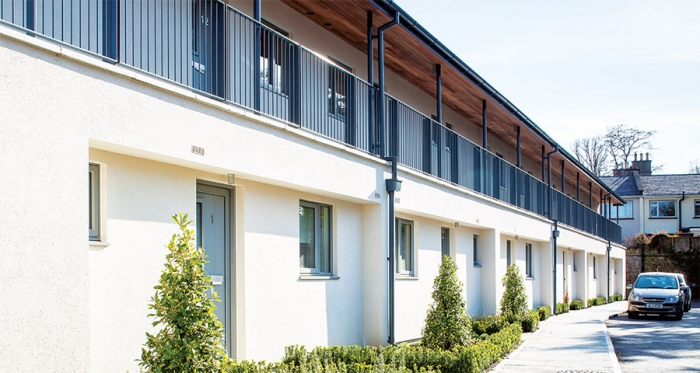 Fabric first retrofit rejuvenates Dublin social housing