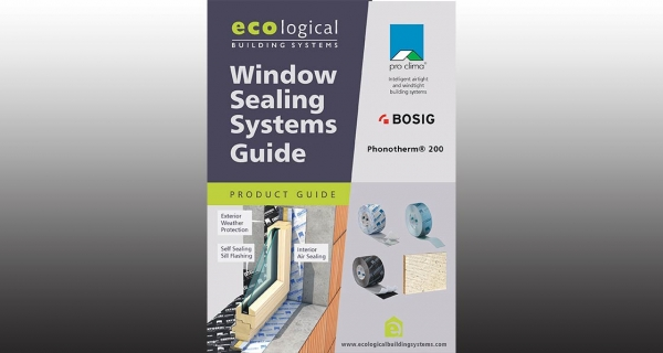 Ecological launch new guide to window sealing systems