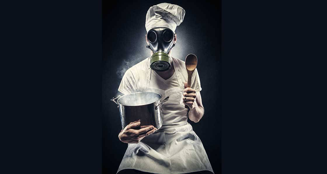Hell's kitchen - Why cooking can destroy indoor air quality