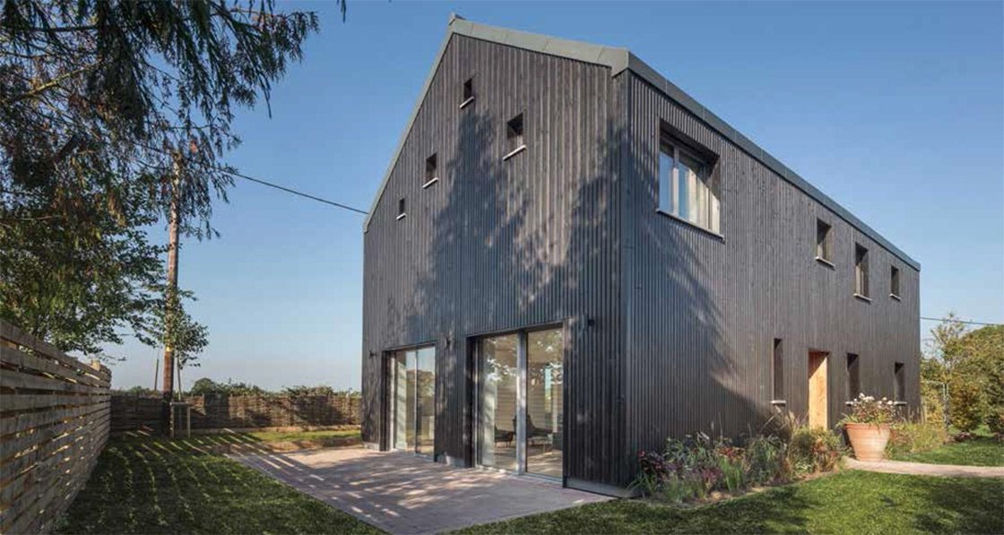 Simple-yet-stylish West Berkshire passive house that bore a business